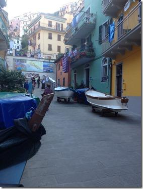 סירות ליד הבית